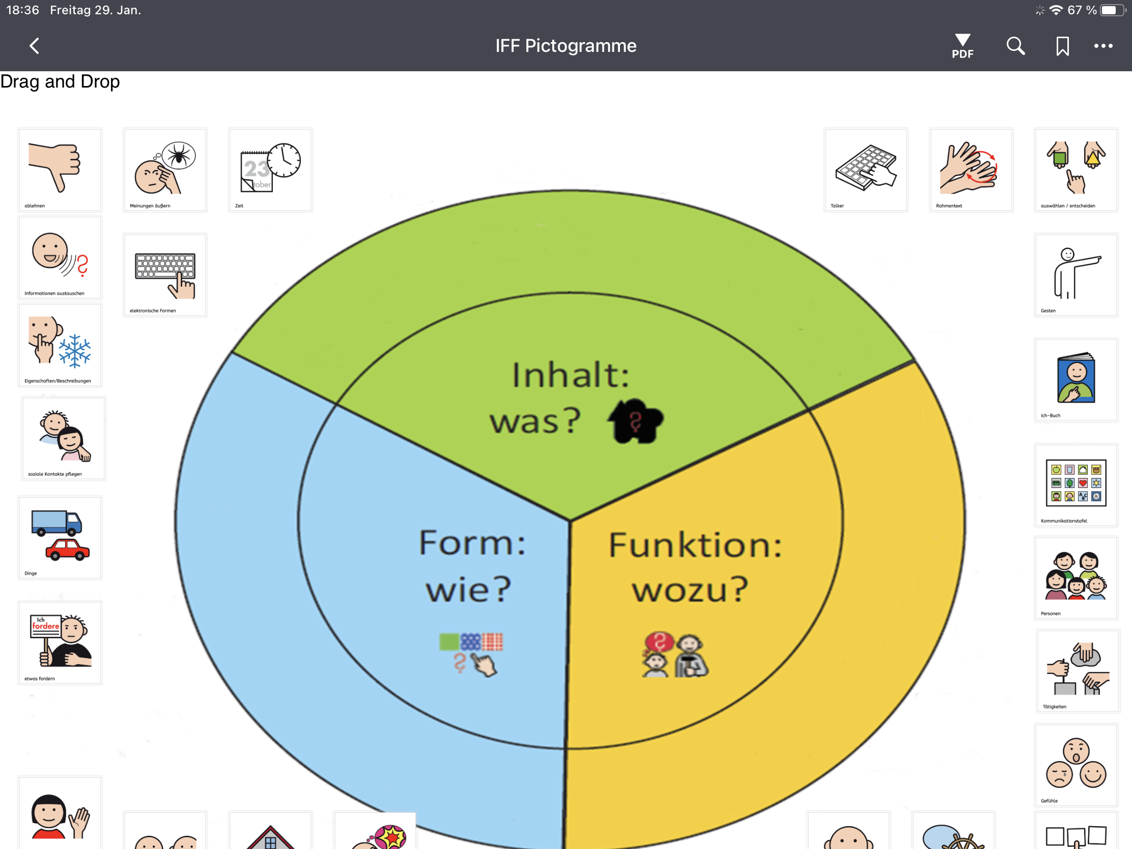 Workflow: Interaktive H5P-Übungen mittels Lumi-Education in Padlet nutzen