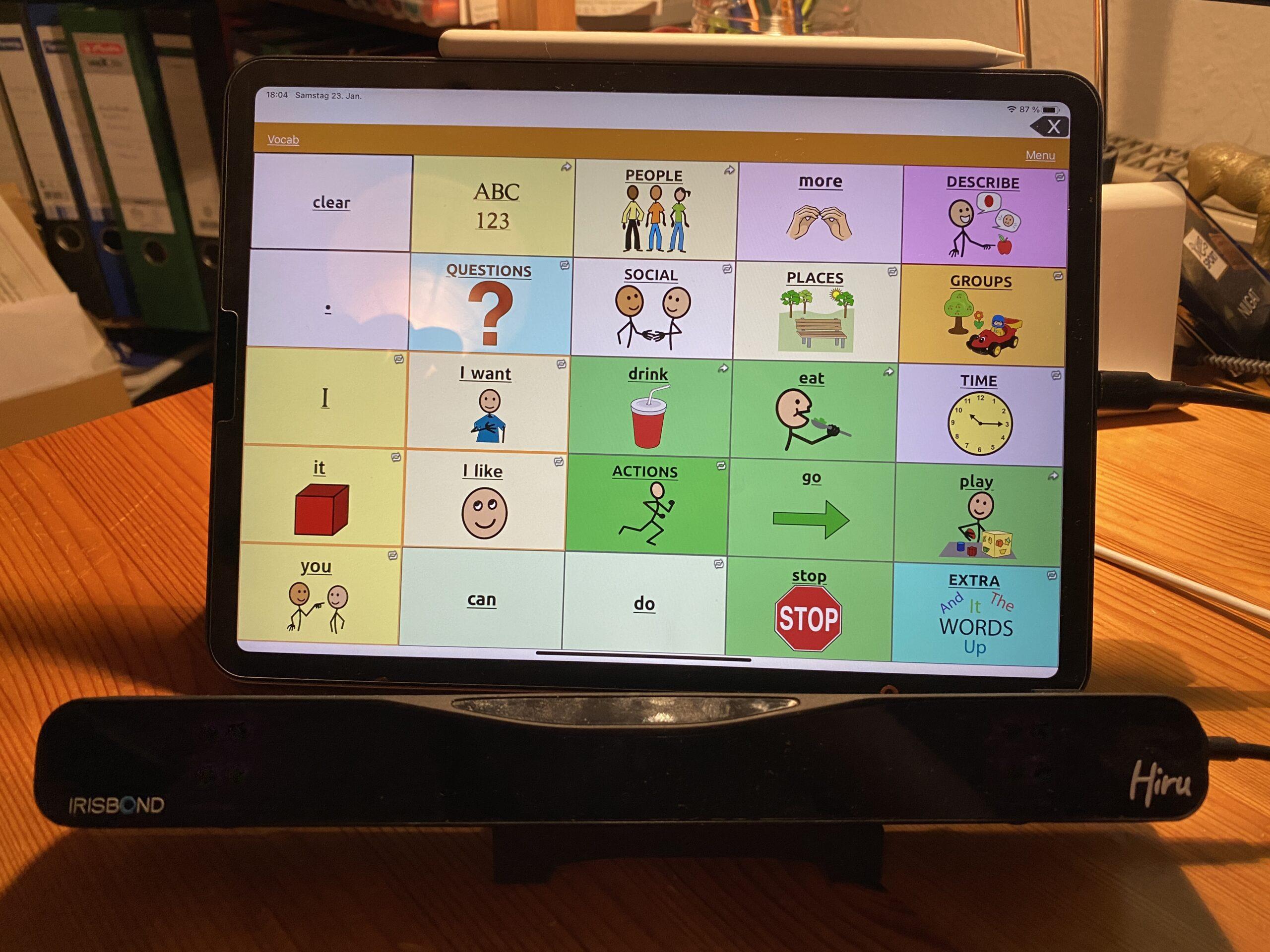 Neuheit: Augensteuerung auf dem iPad mit Hiru